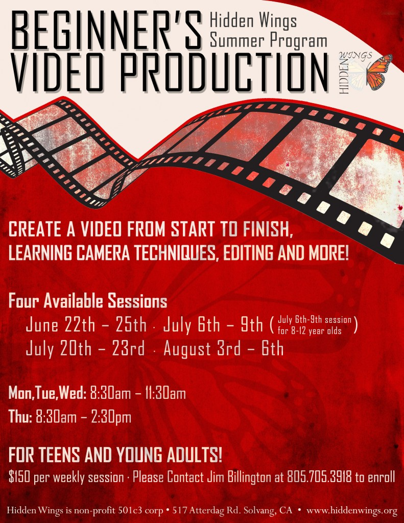 Video Production Flyer revised